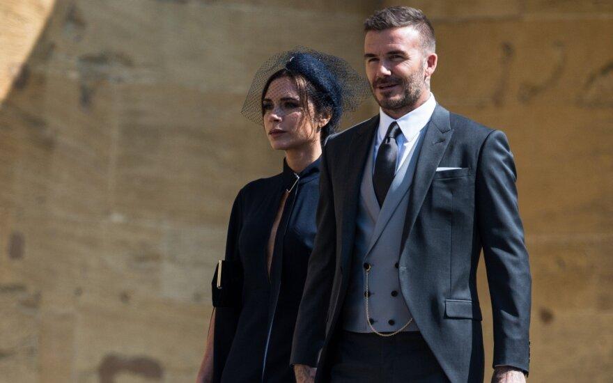 Victoria Beckham ir Davidas Beckhamas