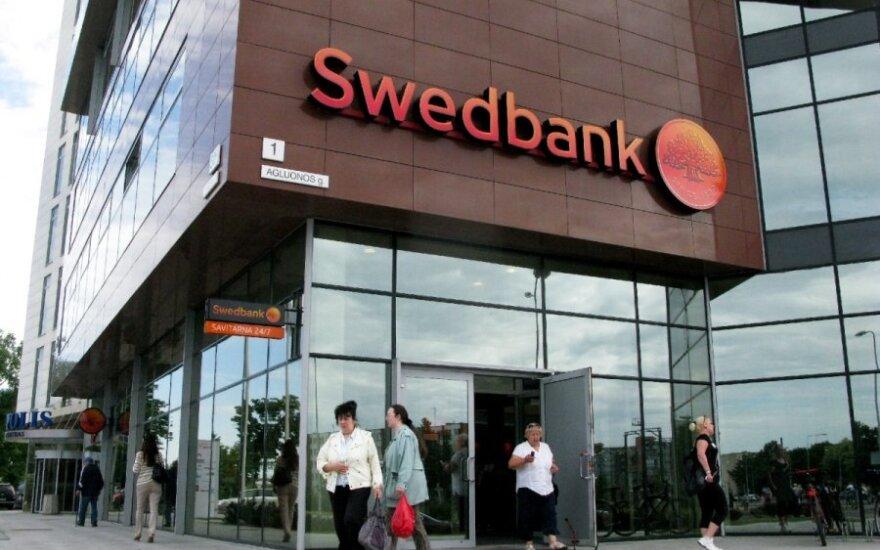 В ночь на среду не будут работать банкоматы банка Swedbank