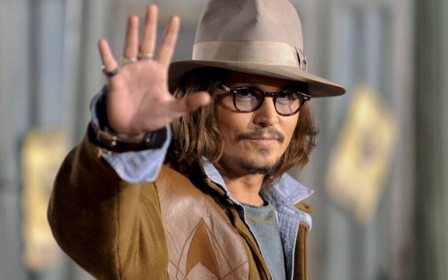 Johnny Depp uwielbia być ekscentrykiem