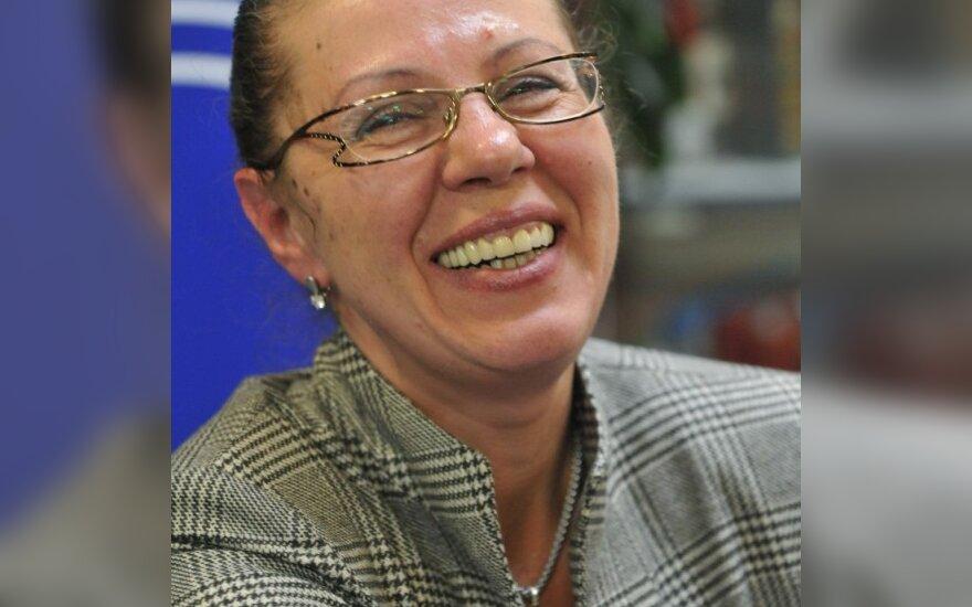Писательница Маринина за свой успех в Литве не получает ни цента