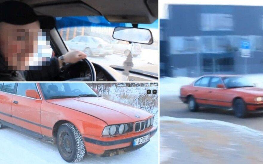 18-летний владелец BMW расплакался и сдал друга-лихача