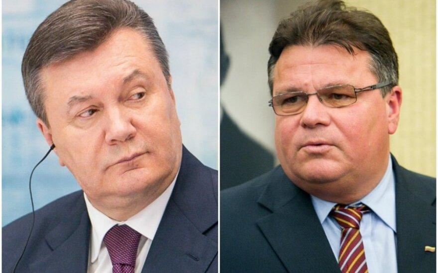 Глава МИД Литвы: Президент Украины еще может спасти договор с ЕС
