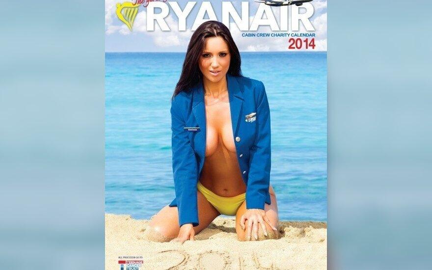 """""""Ryanair"""" kalendoriaus viršelis"""