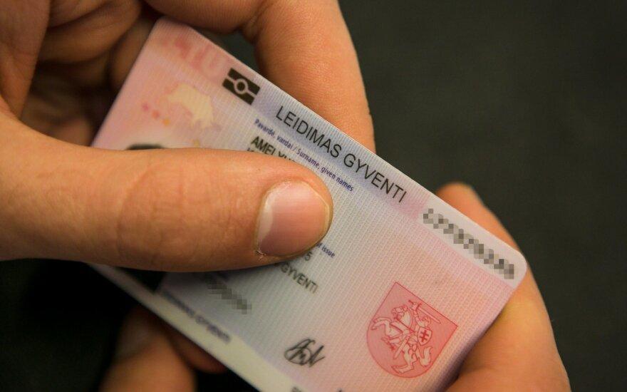 В Литве увеличилось число выданных иностранцам видов на жительство