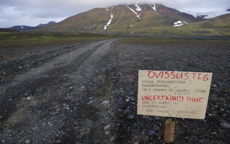 W Islandii obudził się Bardarbunga