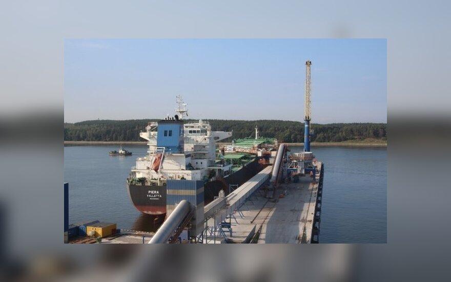 Друнгилас: сентябрь в Клайпедском порту был впечатляющим