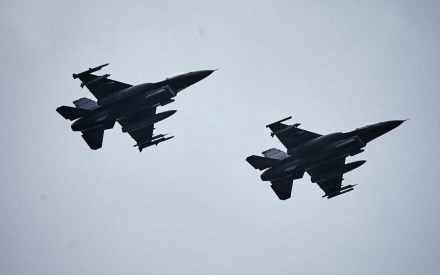 Польские истребители впервые поднимались на перехват российского самолета