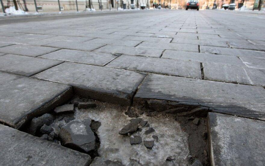 В деле о реконструкции проспекта Гедиминаса подозреваемых все еще нет