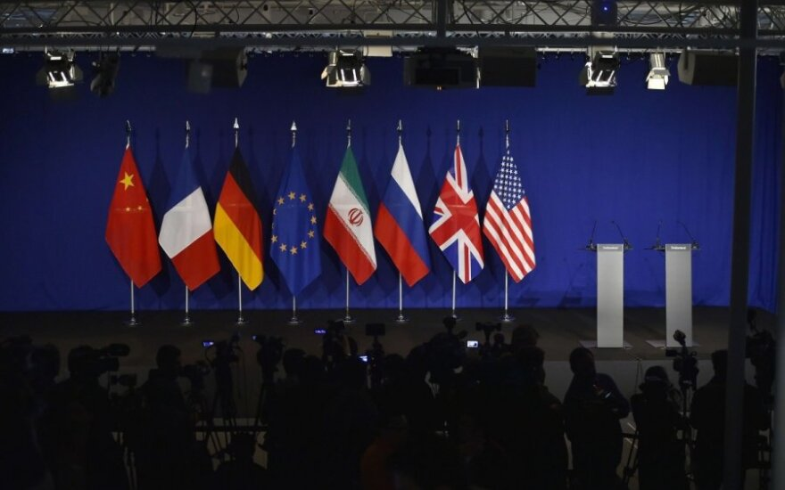 Derybos su Iranu Lozanoje