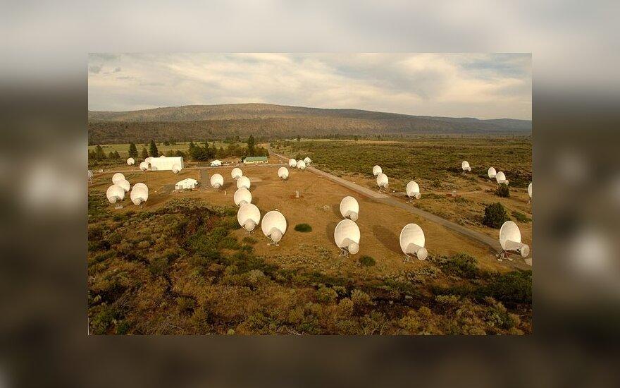 ATA teleskopų masyvas (SETI nuotr.)