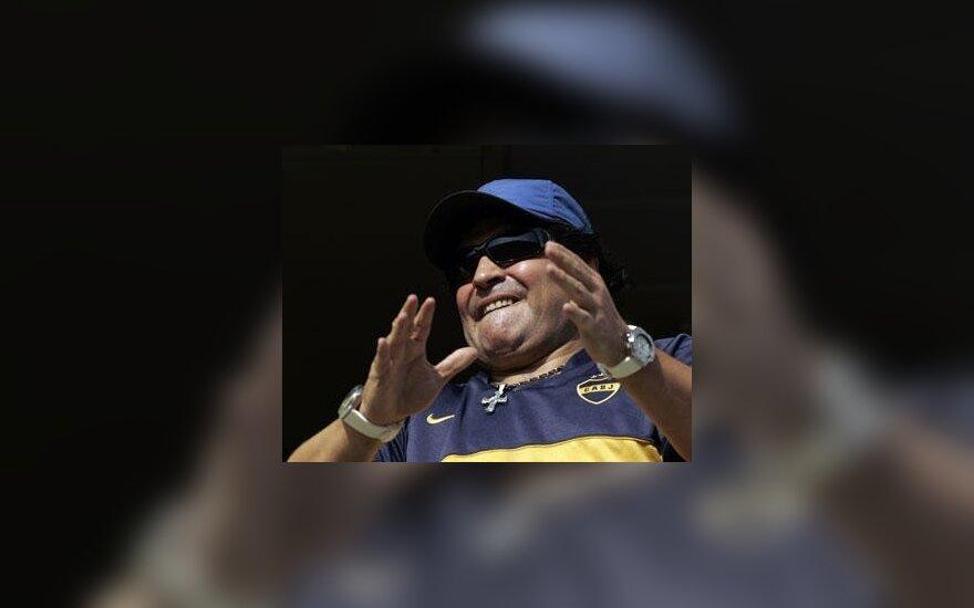 Марадона вызвал в сборную 35-летнего форварда