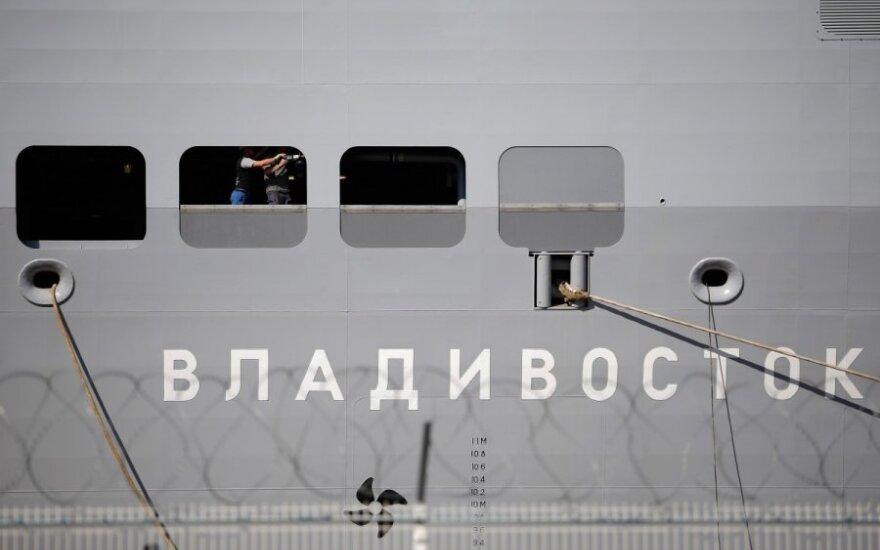 Francja przekaże Rosji pierwszy Mistral na początku listopada