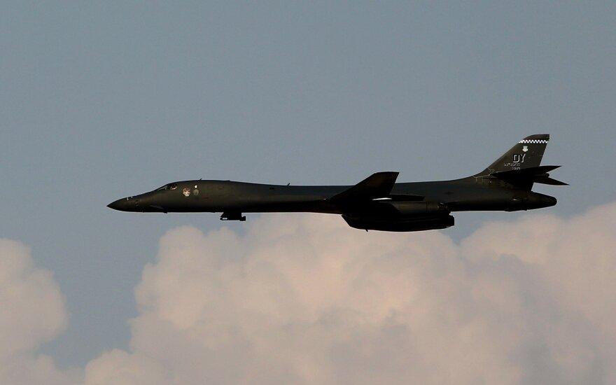 Бомбардировщики США отработали в Эстонии сотрудничество с авиационными наводчиками