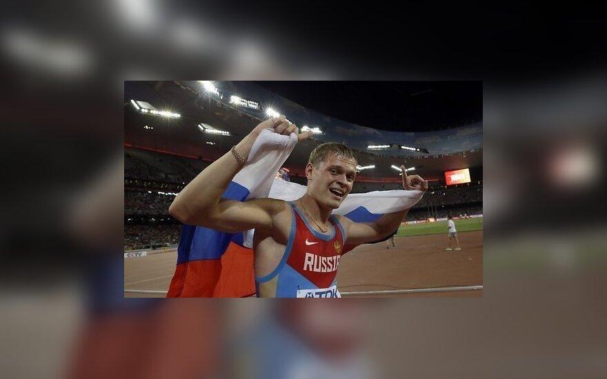У России — первая медаль на чемпионате мира по легкой атлетике