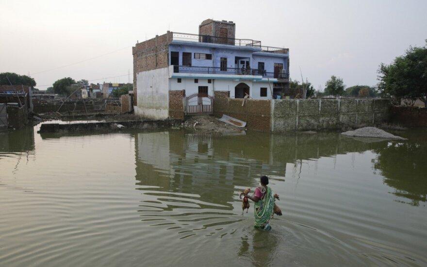 Наводнение в Индии побило все рекорды