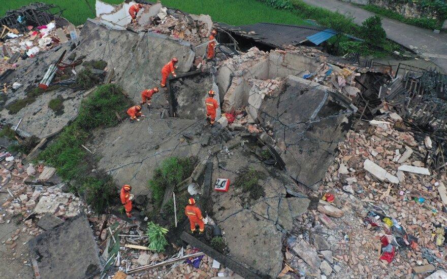 Разрушительное землетрясение в Китае: есть погибшие, сотни раненых