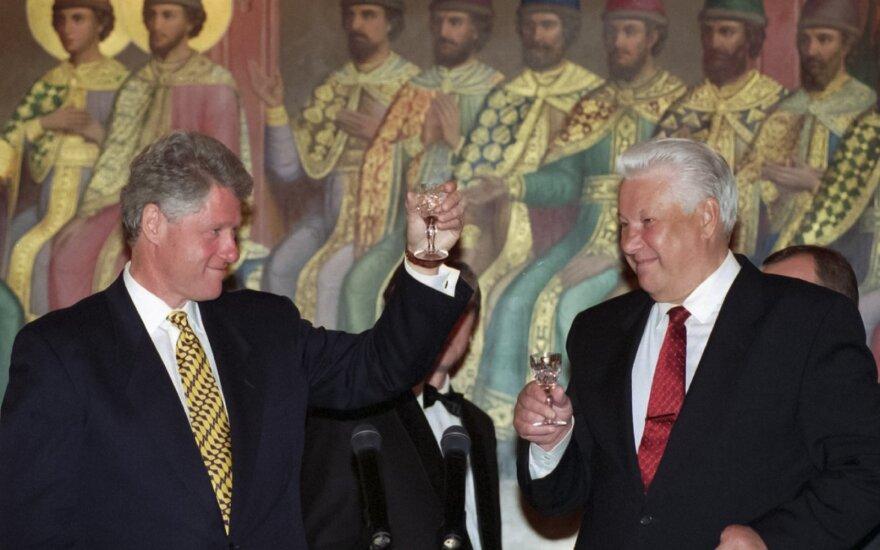 В США опубликовали расшифровку разговора Ельцина с Клинтоном о Путине
