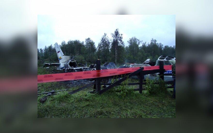 В авиакатастрофе Ан-24 погибла дочь гражданина Литвы