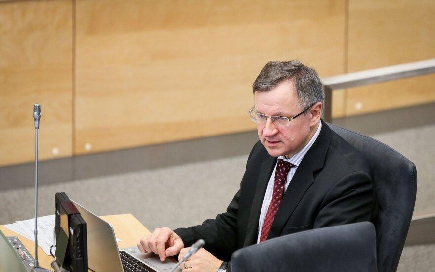 Стражи этики: Варейкис правильно использовал деньги на парламентские расходы