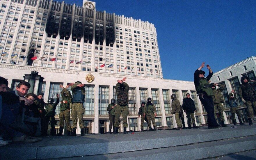 Как Белый дом стал черным, или Почему Запад поддержал Ельцина в 1993 году
