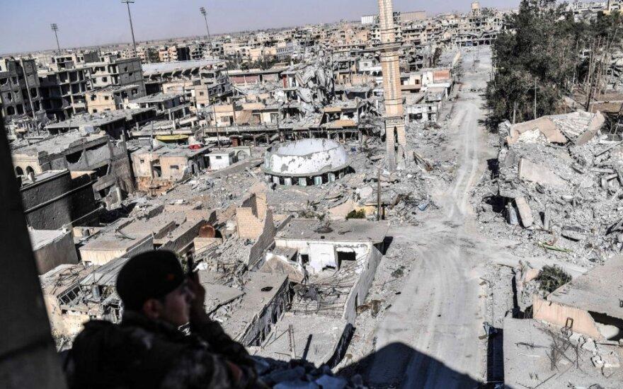 Sirijos demokratinės pajėgos (SDF)