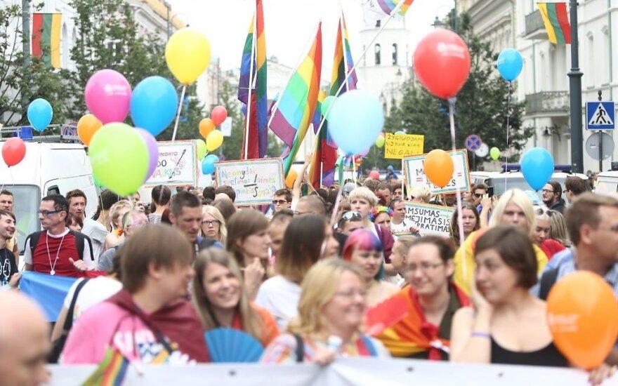 В субботу в Вильнюсе состоится шествие гомосексуалов: кто обращался за разрешением, муниципалитет не указал