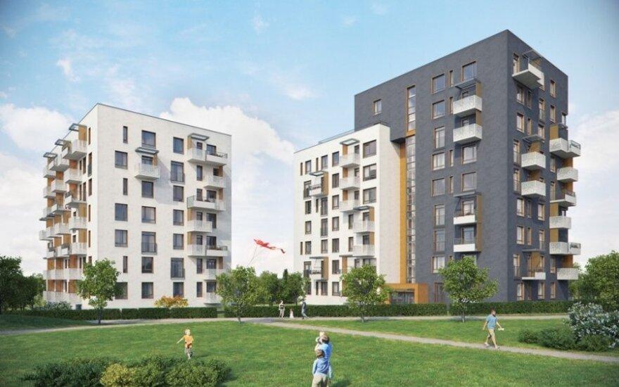 """Būsimasis """"LightHouse"""" projektas Vilniuje"""