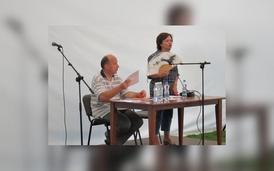 TS –LKD vasaros sąskrydis. Rasa Juknevičienė ir Andrius Kubilius