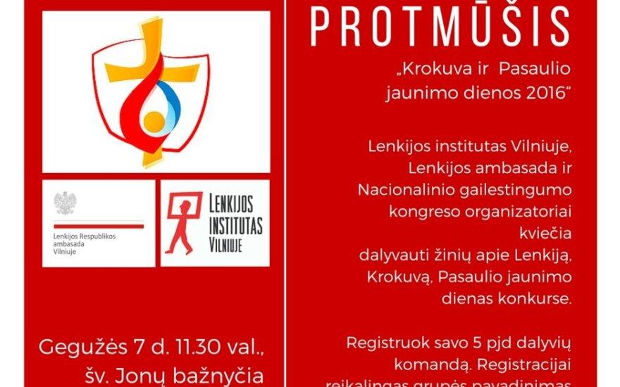 """Bitwa intelektów """"Kraków i Światowe Dni Młodzieży"""""""