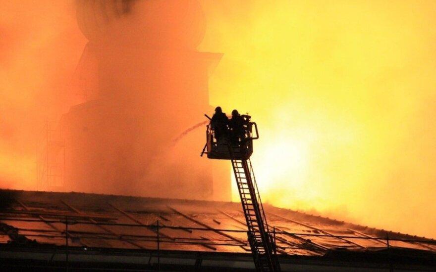 Pożar w polskim kościele. Dwie osoby w szpitalu