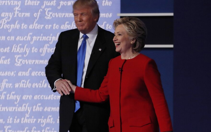 Дебаты Клинтон и Трампа установили рекорд по числу зрителей