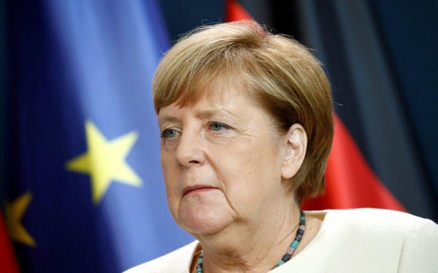 Vokietijos kanclerė Angela Merkel
