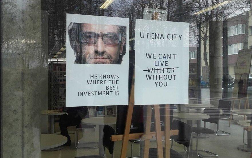 Конец U2tena: после проверки Боно отказался от связей с литовским торговым центром
