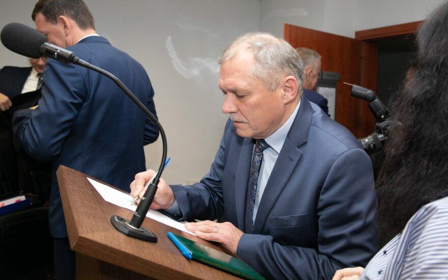 В деле экс-посла Литвы в России – записи телефонных разговоров