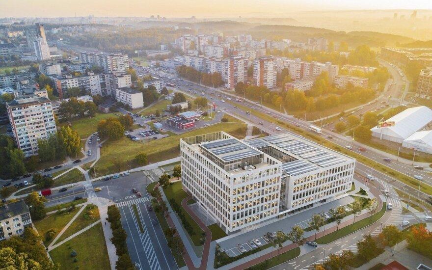 Conresta за 23 млн евро построит бизнес-центр в Вильнюсе