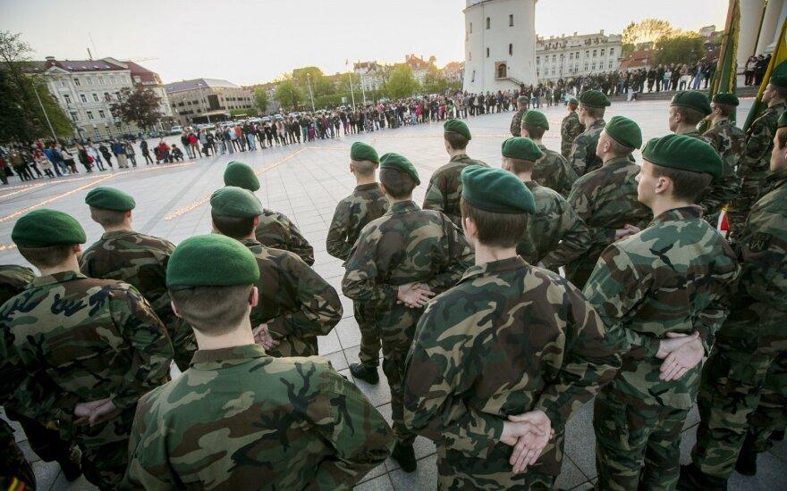 Sejm dał broń Szaulisom i ochotnikom