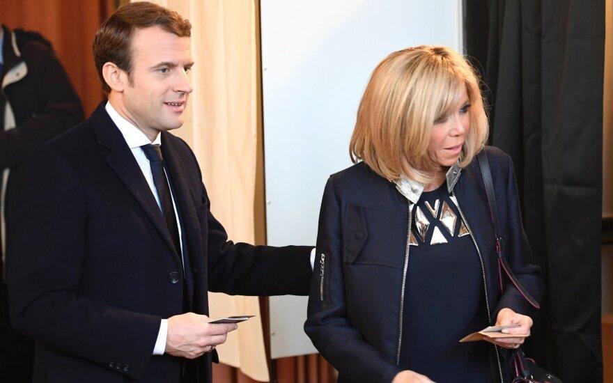 Бельгийские СМИ: Макрон уверенно лидирует на выборах во Франции