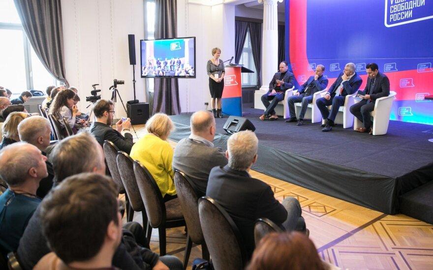 Форум свободной России в Вильнюсе: Путинская Россия на международной арене