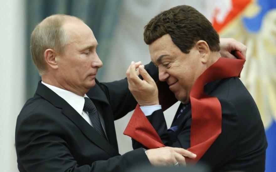 Кобзон намерен попасть в Европу при помощи Путина