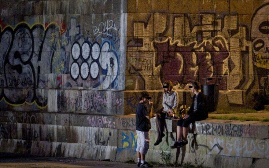 Wileński samorząd walczy z piciem alkoholu w miejscach publicznych
