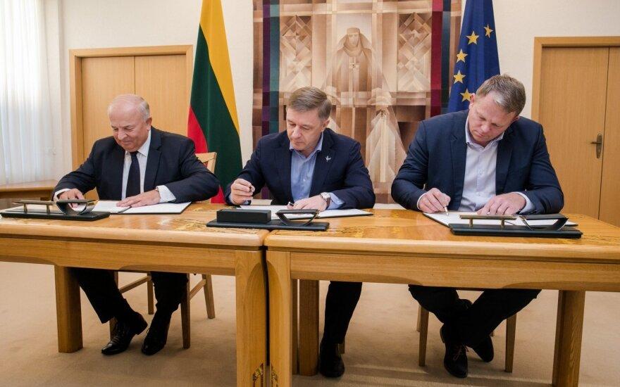"""Фракция """"Порядка и справедливости"""" в Cейме Литвы присоединилась к правящей коалиции"""