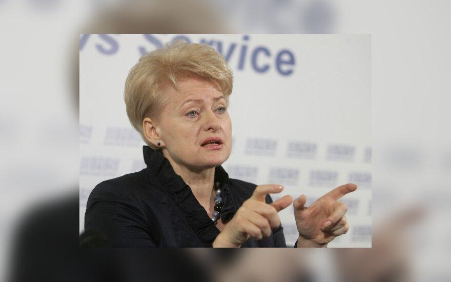 Декретами править страной у Д.Грибаускайте не получится
