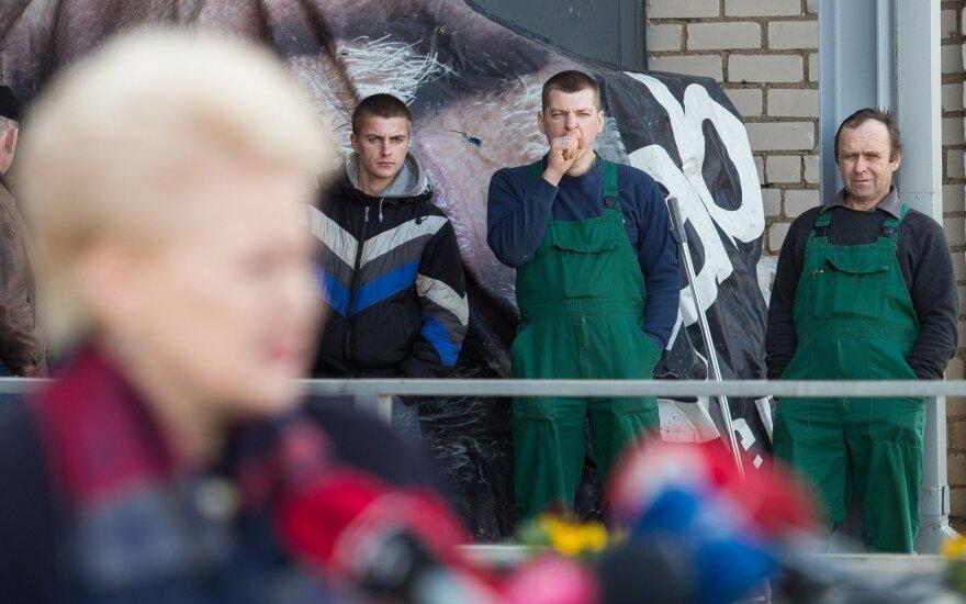 После известий о скандальной переписке снизился рейтинг президента Литвы