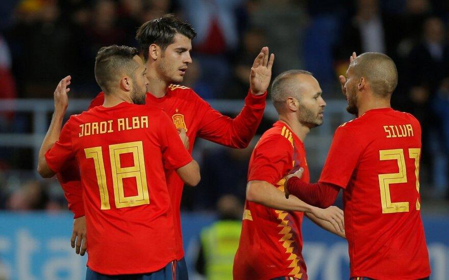 Ispanijos futbolo rinktinė Alvaro Morata