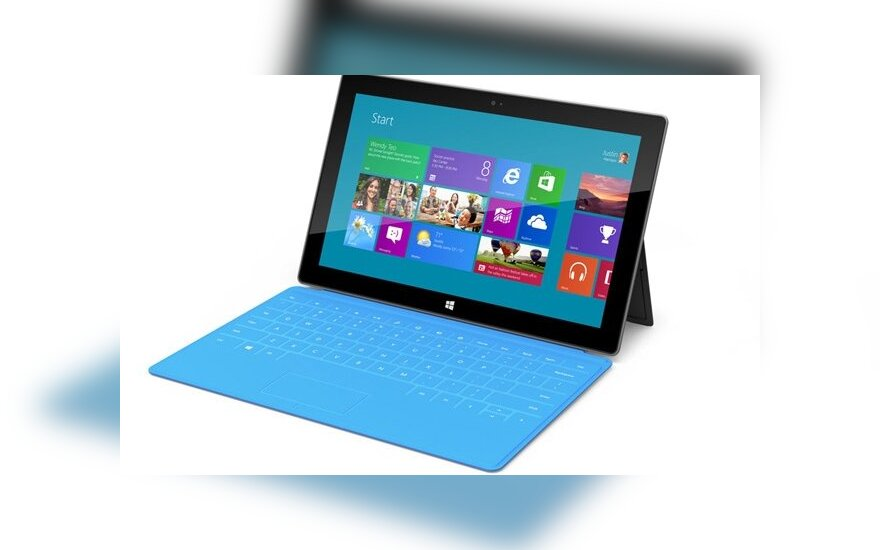 Microsoft показала 10-дюймовый планшет Surface