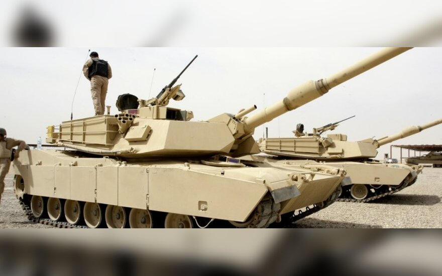 Wojsko USA w krajach bałtyckich szuka miejsca na swoje czołgi