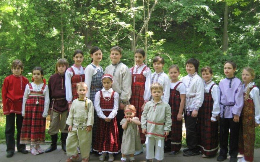 Юные исполнители фольклора собираются в Вильнюсе