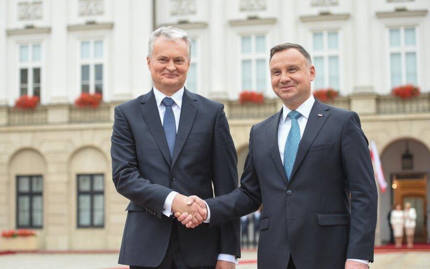 Науседа поздравил Польшу и назвал её одним из ближайших союзников Литвы