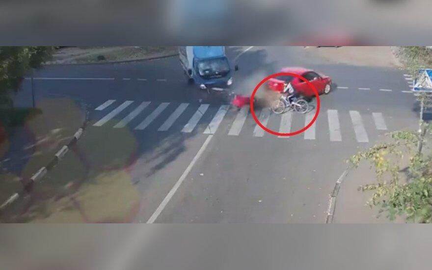 Szczęście rowerzysty