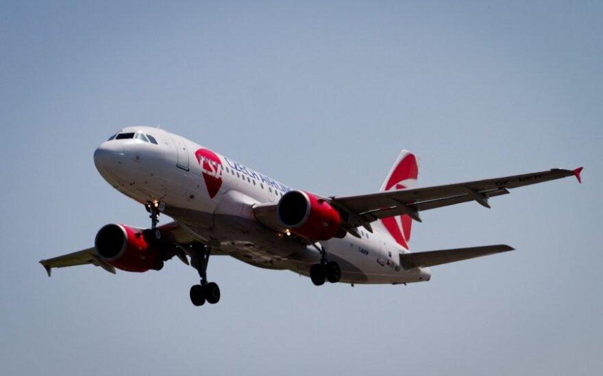 Czech Airlines будет чаще летать в Россию